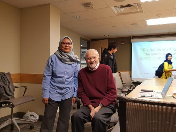Dr. Ika Idris and Her Committee Member Dr. Drew McDaniel